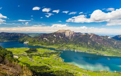 Der Wolfgangsee, die Berge & der Kirchenwirt