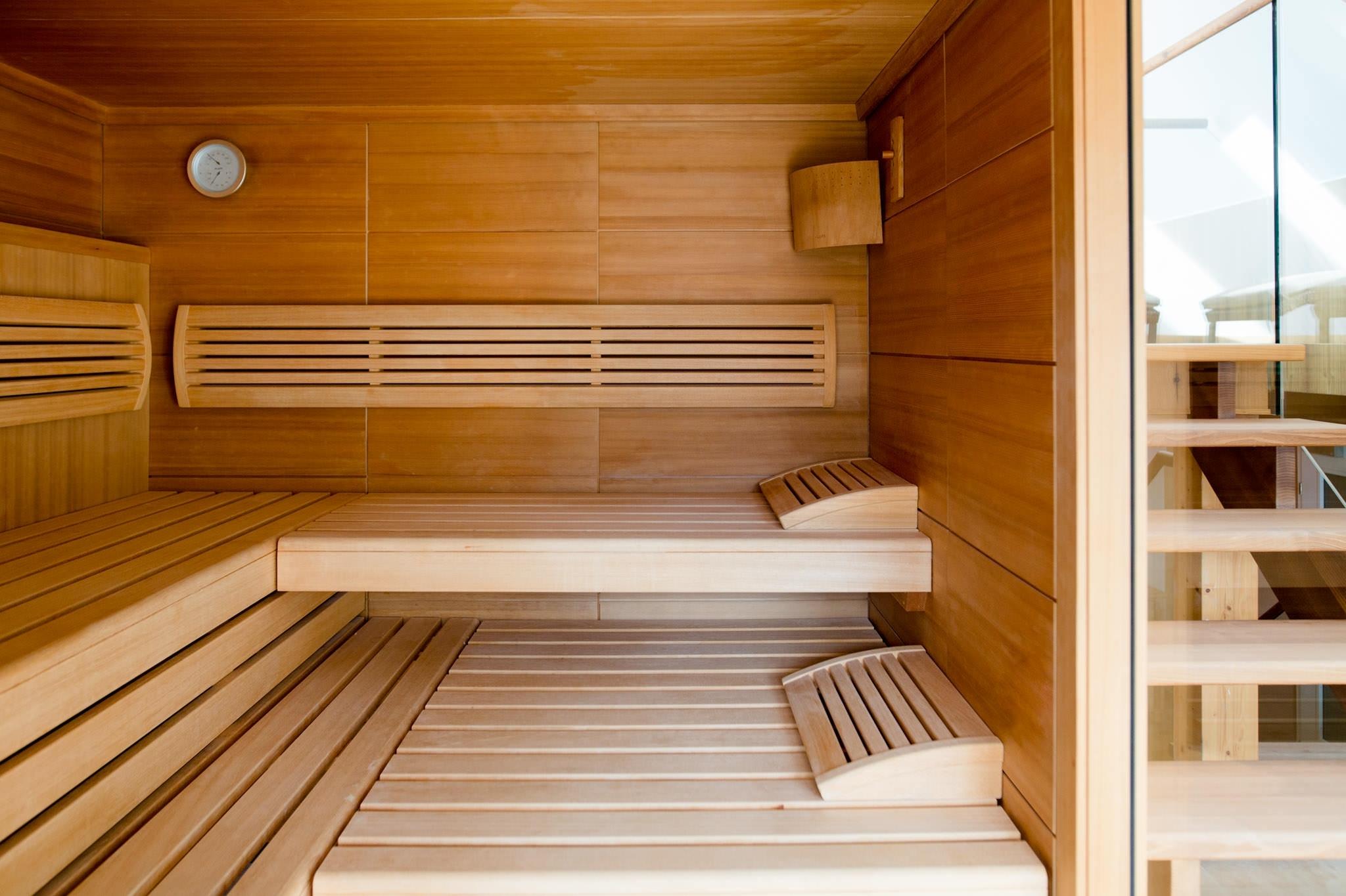 Sauna im Ziehrerhaus