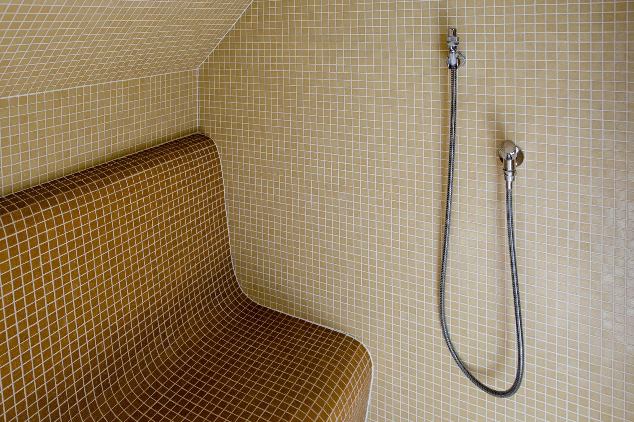Dampfbad im Ziehrerhaus